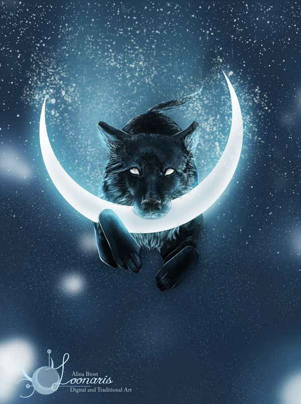 Moon Thief by Loonaris via Deviantart